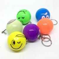 Shake flash ball key chain