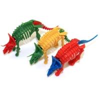 colorful horned dinosaur