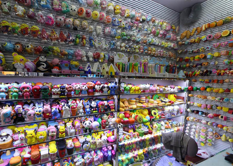 Squishy toys supplier