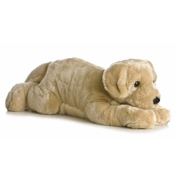 Labrador stuffed animal