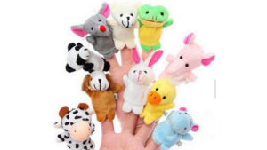 Adorable Plush Finger Puppet