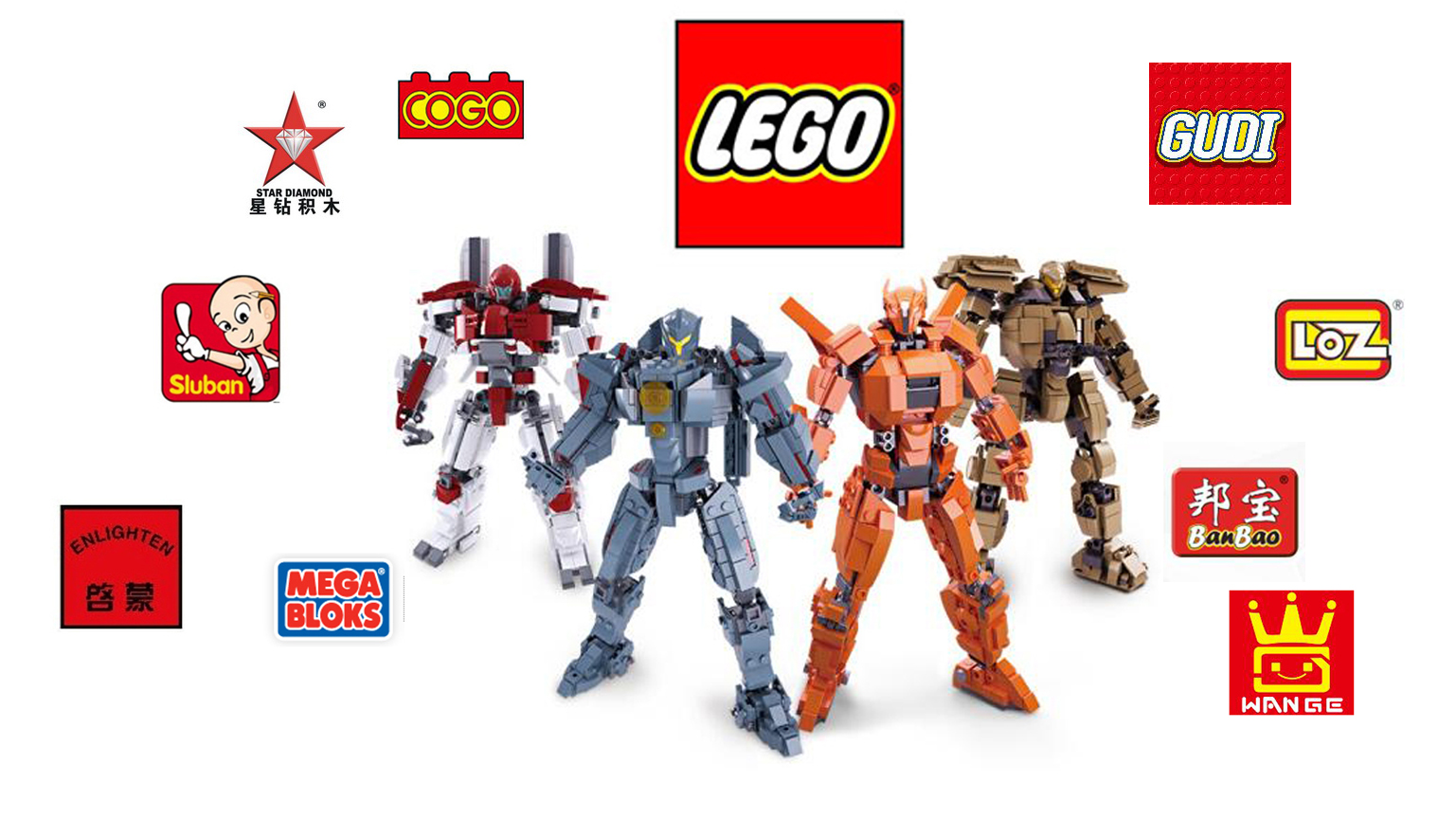 11 Top Building Brick Toys Brand- No Only LEGO