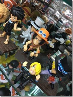 one piece mini toys