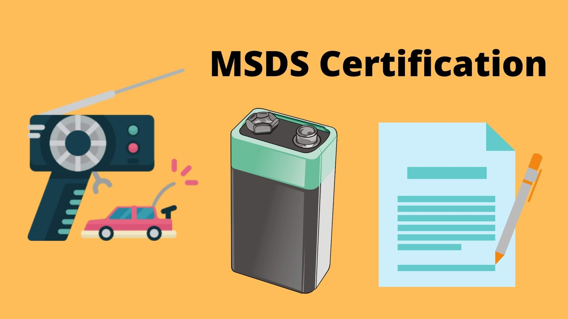 You are currently viewing What is MSDS Certification? Why Your Shipping Company ask for it
