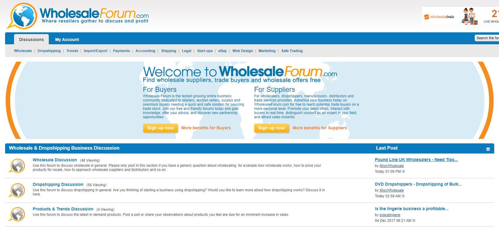 wholesaleforum