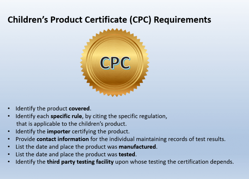 CPC requirement