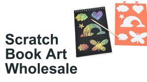 Scratch Book Art Wholesale