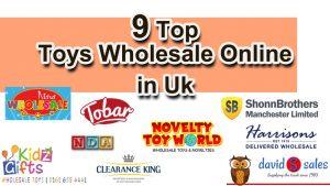 9 Top Toys Wholesale UK Website Online