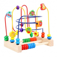 bead roller coaster toy