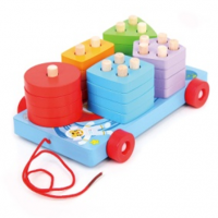 Wooden Car Block Toy