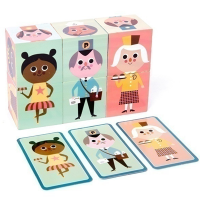 Wooden Puzzle Block Toys
