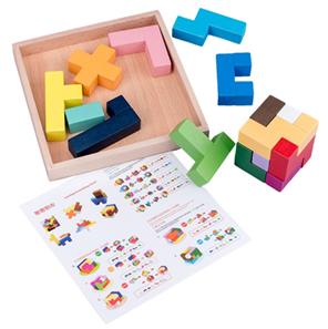 Wooden Tetris Game