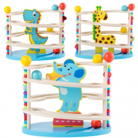 Wooden Track Toy Toddler