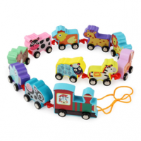 Wooden Train Sets Toys