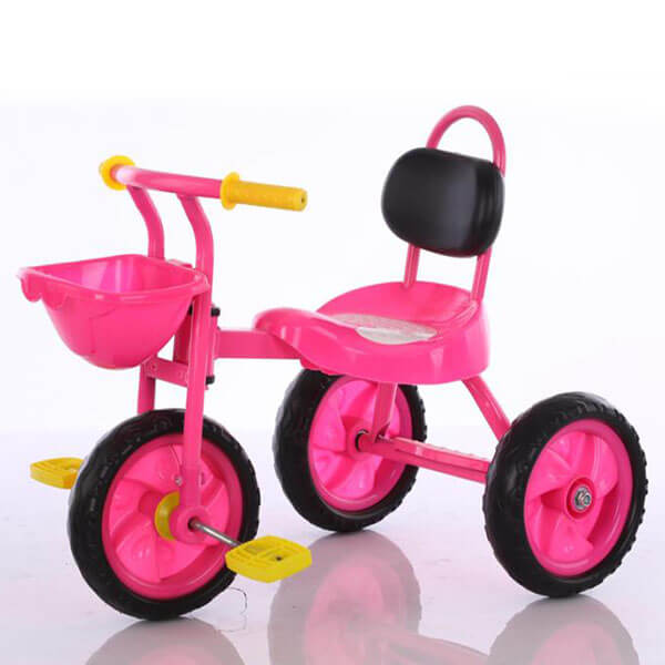 Kid On Tricycle