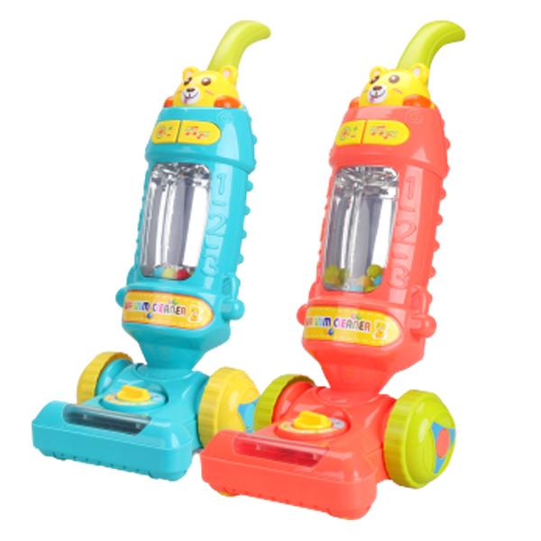 Push toy vacuum with music