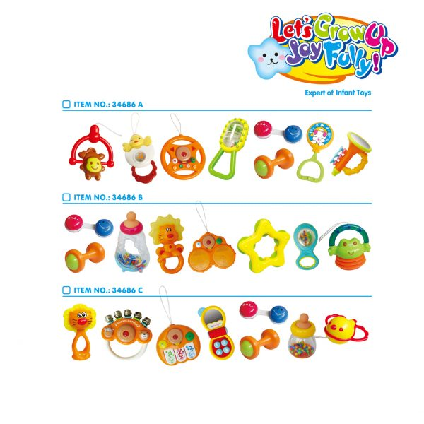 Baby Rattles Teether Toy