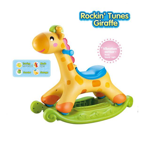 Rocking Giraffe Ride-on Toy