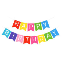 Happy Birthday Banner Sign