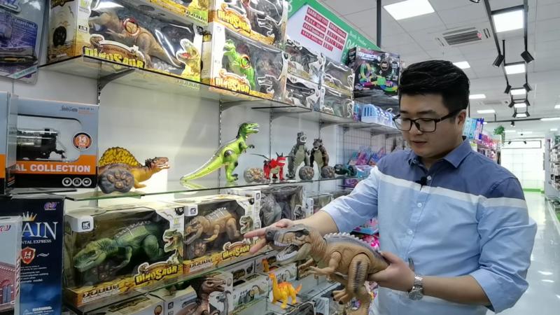 Tony at Toys showroom