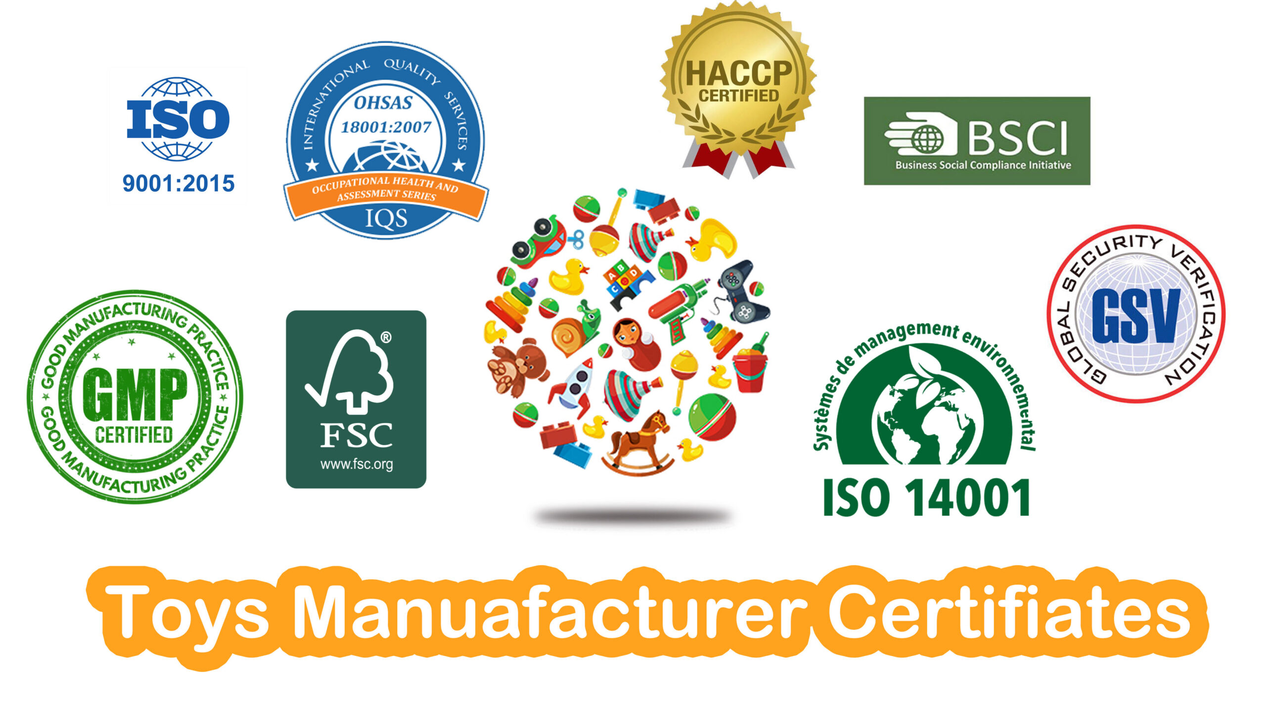 How to Verify Chinese Toys Company? Check those Certifiate.