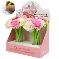 cartoon flower pens
