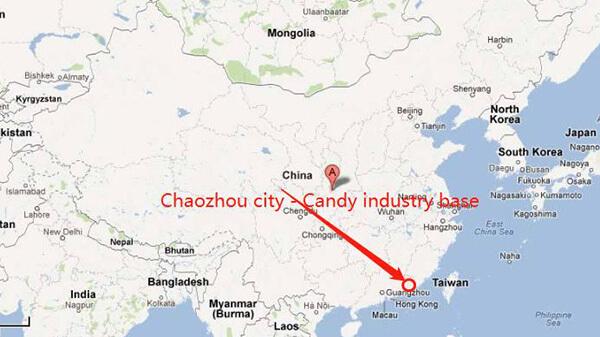 Candy wholesale City china