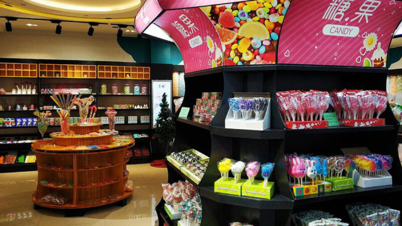 Chaozhou Candy market