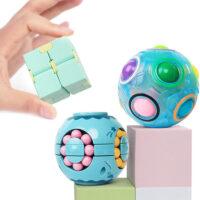 Magic Rainbow Puzzle Ball