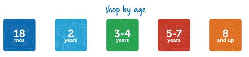 toys age range